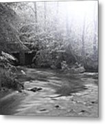 The Hidden Bridge Metal Print