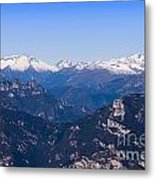 The High Mountain Country Metal Print
