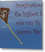 The Highest Kite Metal Print