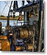 The Highways And Byways Of Shrimping Metal Print
