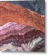 The Hill Of Seven Colors Metal Print
