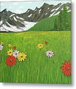 The Hills Are Alive With The Sound Of Music Metal Print