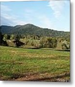 The Hills Near Marriot Ranch Metal Print