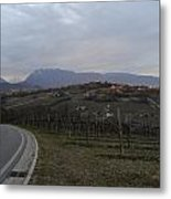 The Hills Of The Wine Metal Print