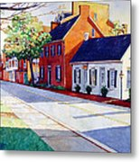 The Historic District Metal Print