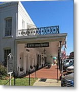 The Historic Excelsior Hotel Jefferson Texas Metal Print