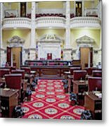 The Historic House Chamber Of Maryland Metal Print