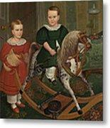 The Hobby Horse Metal Print