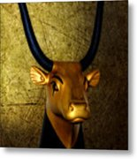The Holy Cow Metal Print