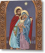 The Holy Family For The Holy Family Hospital Of Bethlehem With Frame Metal Print