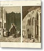 The Holy Sepulcher Of Jerusalem Metal Print by Splendid Art Prints