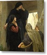 The Holy Women At The Tomb Metal Print