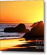 The Honeymoon Sunset  Metal Print