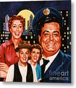 The Honeymooners Metal Print