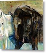 The Horse As Art Metal Print