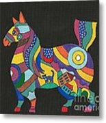The Horse Of Good Fortune Metal Print
