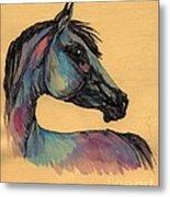 The Horse Portrait 1 Metal Print