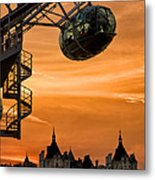 The Horseguards Metal Print