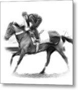 The Horseman Metal Print