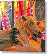 The Horses Metal Print