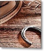 The Horseshoe Metal Print