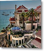 The Hotel Albatroz Metal Print