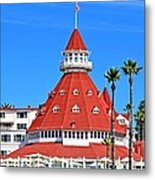 The Hotel Of Hotels Metal Print