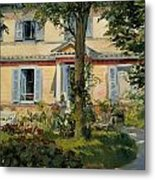 The House At Rueil Metal Print