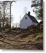The House In The Woods Metal Print