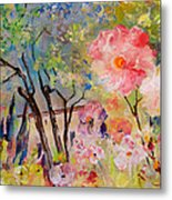The House Of The Rising Flowers Metal Print