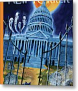 The House Republicans Haunt The Captiol Building Metal Print