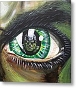 The Hulk Metal Print