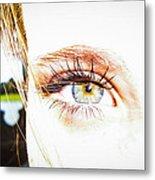 The Human Eye Metal Print