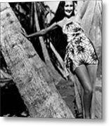 The Hurricane, Dorothy Lamour, 1937 Metal Print