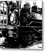 The Hurricane Express Homage 1932 19th Century Locomotive Ghost Town Nevada City Montana Metal Print
