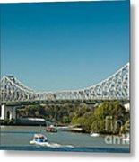 The Icon Of Brisbane - Story Bridge Metal Print