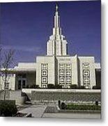 The Idaho Falls Mormon Temple Metal Print