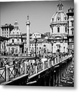 The Imperial Fora Metal Print
