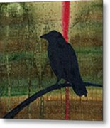 The Impossibility Of Crows Metal Print