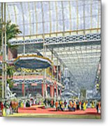 The Inauguration, From Dickinsons Metal Print