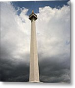 The Independence Monument Metal Print