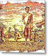 The Indian Tribe Metal Print