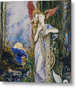 The Inspiration  Metal Print by Gustave Moreau