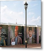 The Intellectuals Metal Print