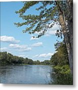 The Intervale On The Piscataquis Metal Print