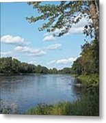 The Intervale On The Piscataquis River Metal Print