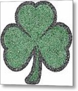 The Intricacies Of A Shamrock Metal Print