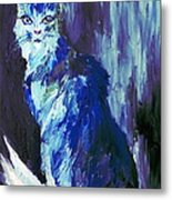 The Intuitive Silence Trembling With A Name Metal Print