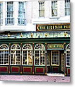 The Irish Pub - Philadelphia Metal Print