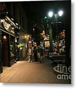 The Irish Pub Metal Print